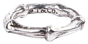 Tiffany & Co. size 3.5, Tiffany & Co., sterling silver, bamboo, fashion ring
