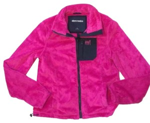 Abercrombie & Fitch Pink/Navy Jacket