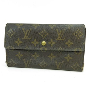 Louis Vuitton K275 Monogram Sarah Long Wallet Coin Case