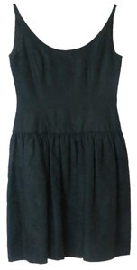 A.J. Bari short dress Black Vintage Short 100% Cotton on Tradesy