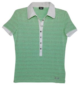 Dolce&Gabbana T Shirt Green/White