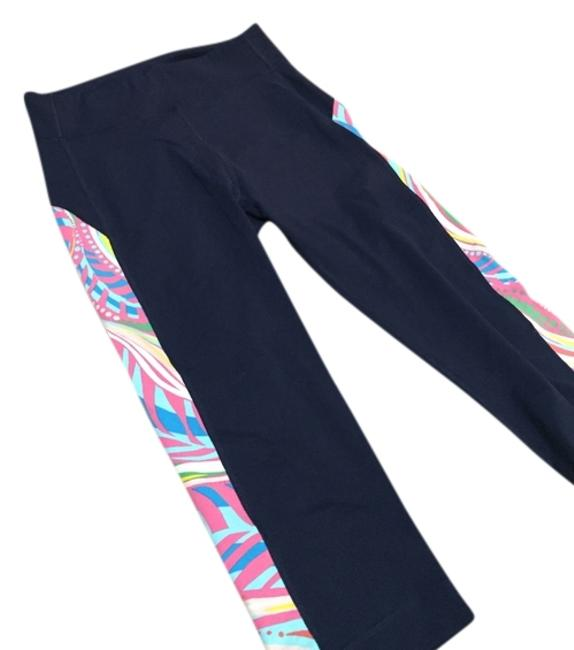 Item - Navy/Multicolor Workout Activewear Bottoms Size 8 (M, 29, 30)