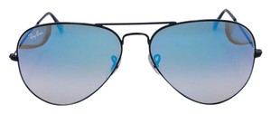 Ray-Ban Ray-Ban Aviator Sunglasses Blue Mirror Gradient Unisex