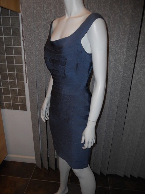Hervé Leger Bandage Stretch Quinn Off Shoulder Dress Image 1