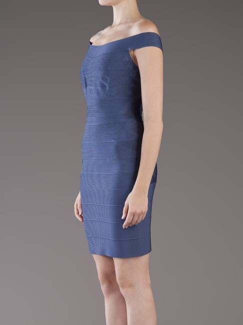 Hervé Leger Bandage Stretch Quinn Off Shoulder Dress Image 3