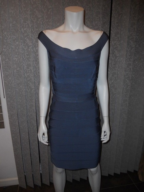 Hervé Leger Bandage Stretch Quinn Off Shoulder Dress Image 7
