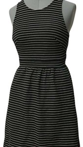 Madewell short dress Black and white on Tradesy