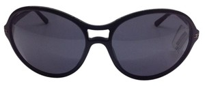 Chanel Chanel sunglasses Aviator Black Frame with Silver CC logos