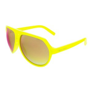 DSquared Dsquared Neon Yellow Aviator sunglasses