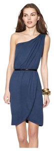 Marc by Marc Jacobs short dress Blue Leigh One Shoulder on Tradesy