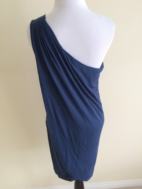 Marc by Marc Jacobs short dress Blue Leigh One Shoulder on Tradesy Image 6