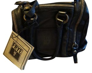 Frye Crossbody Satchel in Black