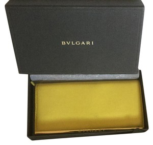 BVLGARI Bvlgari Calf Leather Bifold Wallet