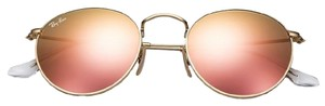Ray-Ban Ray-Ban Round Copper Flash/Gold Frame Sunglasses- RB3447 112/Z2