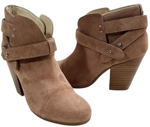 Rag & Bone Suede Ankle Padded Made In Italy Leather Lining Camel Suede Boots