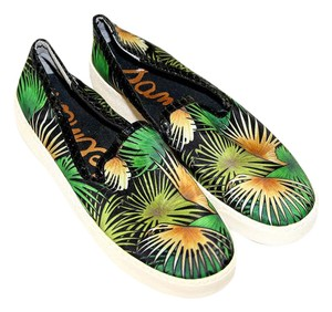 Sam Edelman Sneaker Printed Palm Trees Athletic