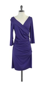 Diane von Furstenberg short dress Bentley Ruched on Tradesy