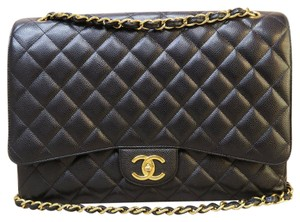 Chanel Classic Maxi Double Flap Shoulder Bag