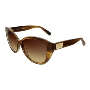 DSquared Dsquared Brown Horn Cat Eye sunglasses