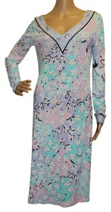 Emilio Pucci Multicolor Viscose Dress