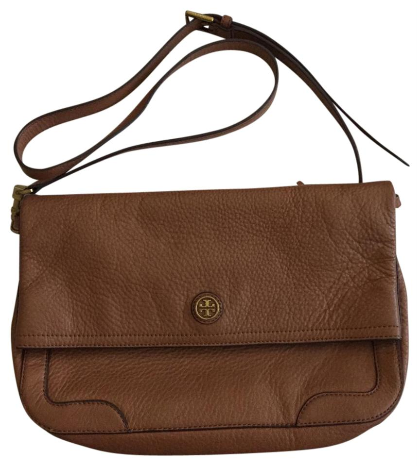 20a8136d310 Tory Burch France Messenger Leather Cross Body Bag - Tradesy