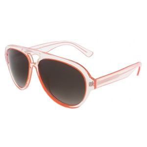 DSquared Dsquared Crystal/Orange Tear-Drop Aviator sunglasses