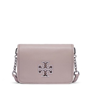 Tory Burch Gray Messenger Bag
