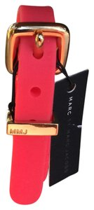 Marc by Marc Jacobs Infra red rubber bracelet