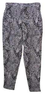Lilly Pulitzer Vintage Skinny Pants black/white