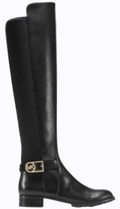 Michael Kors TallLeather Riding Stretch Bootie new black Boots