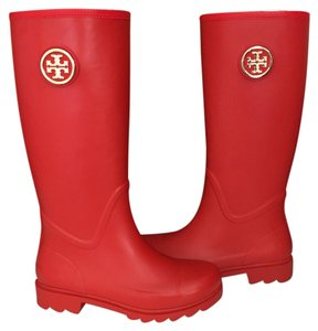 Tory Burch red Boots