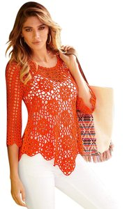 Boston Proper Crochet Tunic