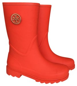 Tory Burch poppy red Boots