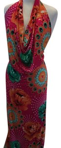 multi Maxi Dress by new mode