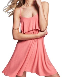 Free People short dress tropical pink on Tradesy