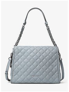 Michael Kors Satchel in Dusty Blue