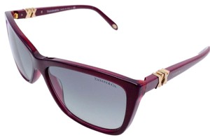 Tiffany & Co. Butterfly Square Plum Purple Classic Sunglasses TF 4124 8173/3C