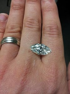 Gia Certified 5 Carat Marquise Cut Diamond