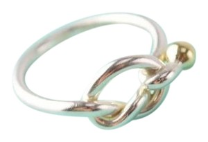 Tiffany & Co. Gold Silver Knot Ring