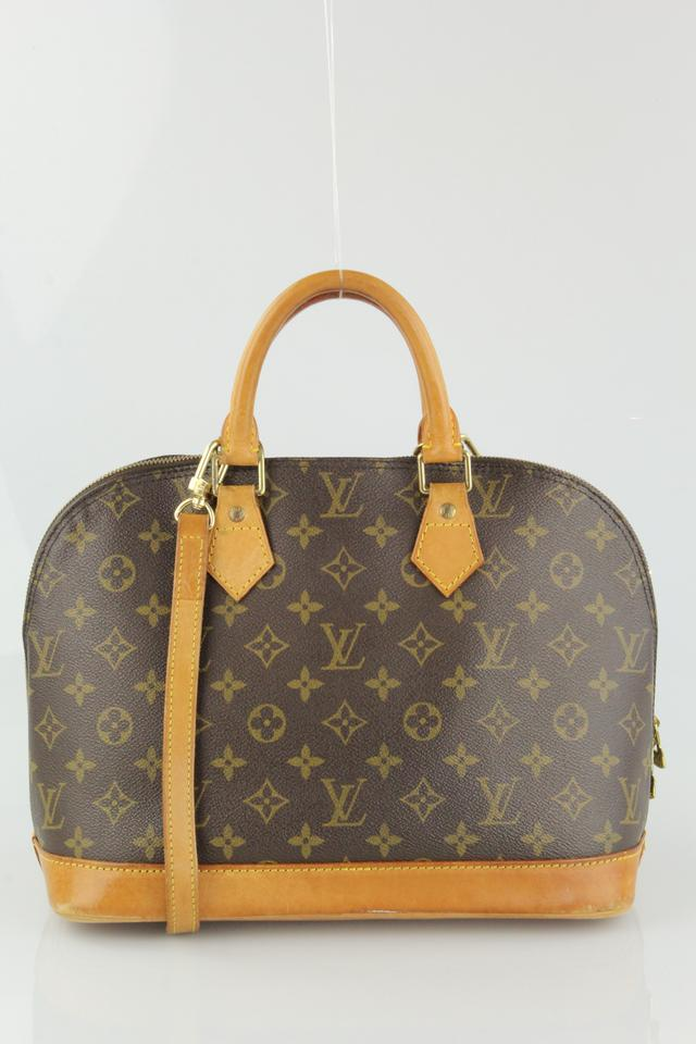 Louis vuitton alma pm shoulder bag on tradesy for Louis vuitton miroir alma bag price