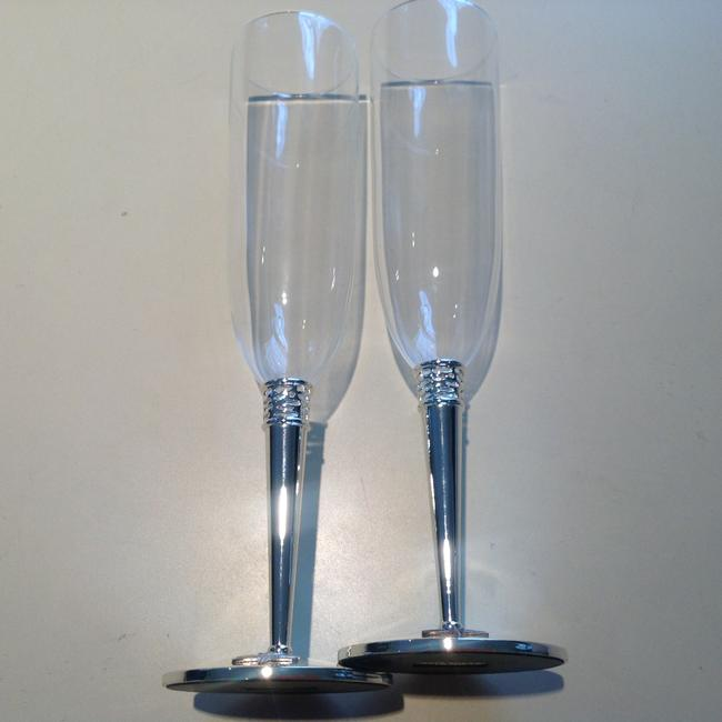 Item - Glass Glass & Silver Made By Lenox
