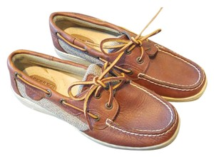 Sperry Cognac Flats