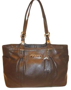 Coach Refurbished Leather Lined Large Hobo Bag