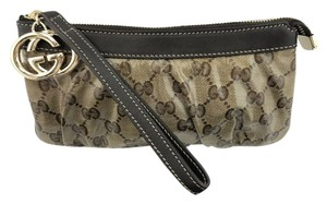 Gucci Accessories Key Chain Fob Gg Wristlet in brown