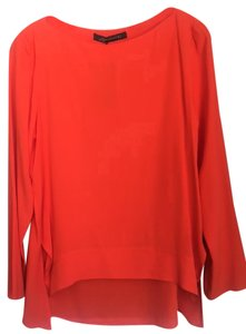 Zara Orange Top Vibrant Orange