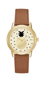Other Ladies Gold and Brown Pineapple Watch