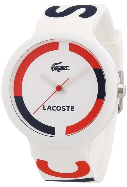 Item - White with Navy and Red Goa Unisex Watch