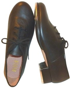 Bloch New Respect Leather Tap Black Flats