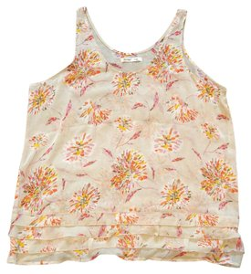 Old Navy Top Ivory/Multi