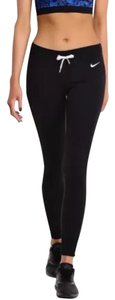Nike Women's Nike Club Tight Pants Black Material: 80% cotton, 20% polyester Style/Color: 614930-010